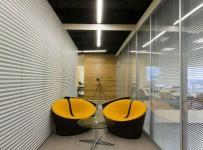 现代风格办公室设计隔断图片现代风格办公家具图片效果图