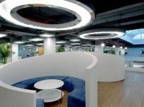现代风格办公室隔断设计图片现代风格办公家具图片装修效果图