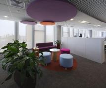 現代風格辦公室隔斷設計圖片現代風格辦公沙發圖片效果圖欣賞