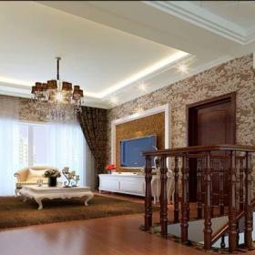 卧室卧室背景墙小卧室阁楼起居室平面图效果图