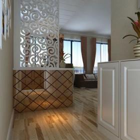 簡約風格二居室玄關隔斷裝修效果圖簡約風格玄關柜圖片