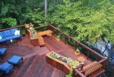 露台复合实木地板效果图