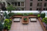 阳台花架花园露台阳台花架简约风格露天阳台花园装修效果图