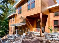 美式鄉村風格客廳300平別墅舒適露臺花園設計圖效果圖