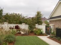現代美式風格三層平頂別墅舒適露臺花園改造效果圖