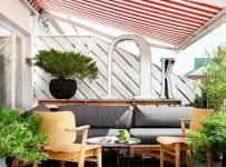 花園舒適庭院露臺裝修效果圖