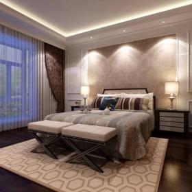 欧式欧式风格卧室装修效果展示效果图