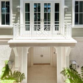 美式风格客厅三层小别墅?#20301;?#21035;墅露台装修图片效果图