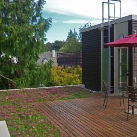 藤艺家具花园露台简约风格露天阳台花园装修效果图简约风格椅凳图片