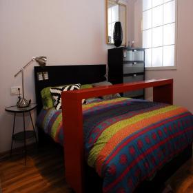 后现代风格小卧室装修效果图