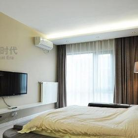 現代簡約風格復式簡潔140平米以上露臺陽光房效果圖