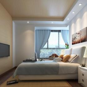 電視背景墻背景墻二居電視背景墻簡約臥室效果圖