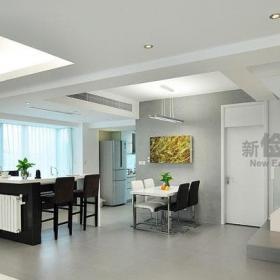 現代簡約風格復式簡潔140平米以上露臺陽光房設計圖效果圖