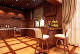 整体橱柜储物柜地柜餐椅餐台?#30340;?#23478;具美式橱柜别墅开放式一层厨房装修效果图
