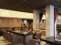工装餐台新中式风格烤肉店装修图片新中式风格餐桌餐椅图片效果图大全