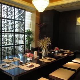 日式风格饭店装修图片日式风格餐台图片装修效果图