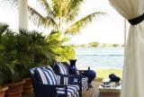 入户花园大户型沙发120㎡海风拂面的地中海花园设计装修效果图