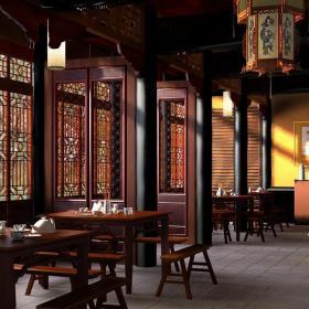 茶楼中式装修效果图
