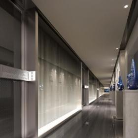 北京BLM室内设计服务集团总部公司设计方案新中式办公装修图纸效果图欣赏