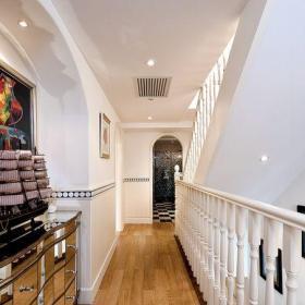 地中海風格三居室玄關走廊裝修效果圖大全