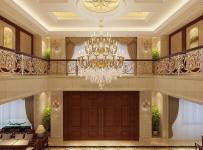 吊灯实木家具吊顶别墅客厅沙发欧式风格门厅地面拼花图片效果图大全