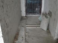 现代三居玄关地面线路改造效果图欣赏