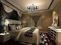 吊頂照片墻后現代風格兩室一廳臥室背景墻裝修效果圖后現代風格兩室一廳床頭柜圖片