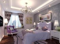 中式风格三居室卧室照片墙装修图片效果图