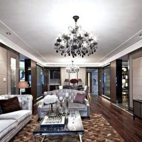 新古典風格五居室客廳照片墻裝修效果圖大全