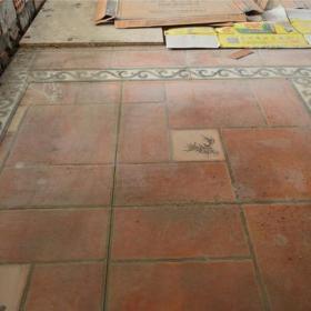 地面铺砖细节效果图欣赏