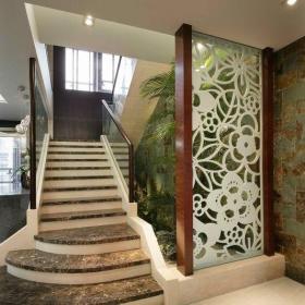 樓梯地面大理石瓷磚效果圖