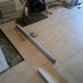客厅地面贴砖效果图大全