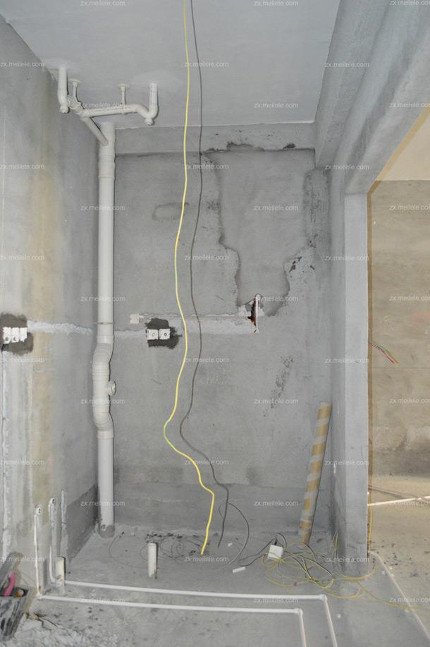 厨房墙地面水电改造效果图欣赏