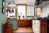 大户型橱柜美式风格厨房装修效果图