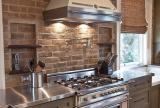 二手房橱柜110㎡现代厨房家具在乡村风格中的运用装修效果图