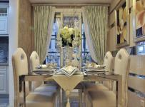 新古典風格四居室餐廳餐桌裝修效果圖