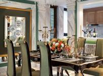 新古典風格四居室餐廳餐桌裝修效果圖大全