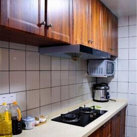 東南亞風格二居室廚房灶臺裝修效果圖大全