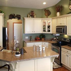日式廚房裝修效果圖大全 開放式廚房裝修效果圖