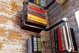 创意生活用品家居收纳超省钱的二手房改造计划:天然书柜的形成效果图