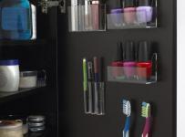 现代家居收纳超实用的卫生间收纳柜效果图欣赏