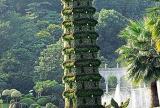 入户花园绿色花园装修设计的艺术之美效果图欣赏