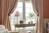 别墅沙发窗帘幸福巧遇:截取法兰西的粉色浪漫效果图