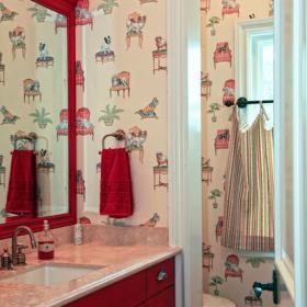 欧式风格单身公寓设计图卧室粉色2018卧室客厅地台设计