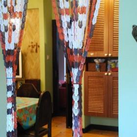 可愛田園風格小戶型小清新綠色經濟型餐廳裝修效果圖