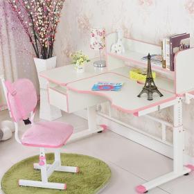 家居粉色兒童桌效果圖