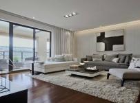 90平米時尚現代家庭裝修效果圖