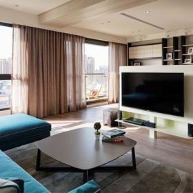 198平現代四居室設計案例