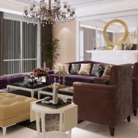 歐式風格四居室創意圖設計