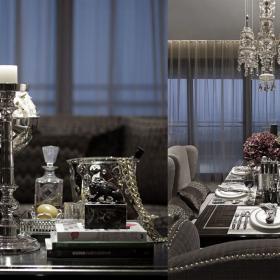 歐式古典四居室設計案例